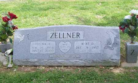 ZELLNER, THELMA A. - Benton County, Arkansas | THELMA A. ZELLNER - Arkansas Gravestone Photos