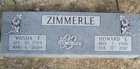 ZIMMERLE, WANDA ELLEN - Benton County, Arkansas | WANDA ELLEN ZIMMERLE - Arkansas Gravestone Photos