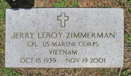 ZIMMERMAN (VETERAN VIET), JERRY LEROY - Benton County, Arkansas   JERRY LEROY ZIMMERMAN (VETERAN VIET) - Arkansas Gravestone Photos