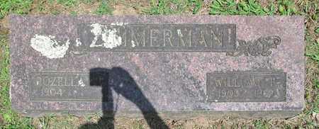 ZIMMERMAN, WILLIAM P - Benton County, Arkansas | WILLIAM P ZIMMERMAN - Arkansas Gravestone Photos