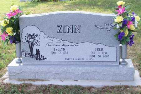 ZINN, FRED - Benton County, Arkansas | FRED ZINN - Arkansas Gravestone Photos