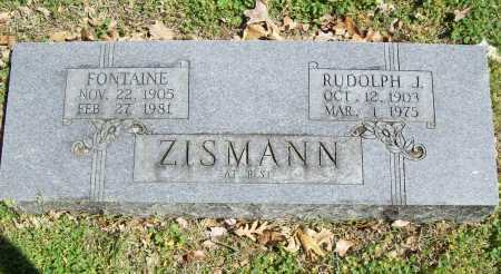 ZISMANN, FONTAINE - Benton County, Arkansas | FONTAINE ZISMANN - Arkansas Gravestone Photos