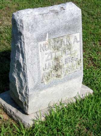 ZITTEL, NORMAN A - Benton County, Arkansas   NORMAN A ZITTEL - Arkansas Gravestone Photos
