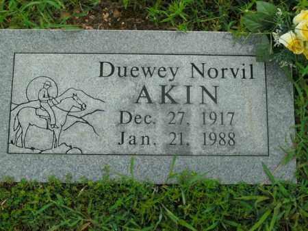 AKIN, DUEWEY NORVIL - Boone County, Arkansas | DUEWEY NORVIL AKIN - Arkansas Gravestone Photos