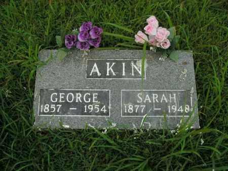 AKIN, SARAH - Boone County, Arkansas | SARAH AKIN - Arkansas Gravestone Photos