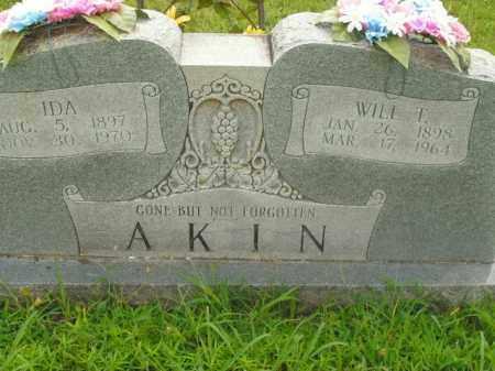 AKIN, IDA - Boone County, Arkansas   IDA AKIN - Arkansas Gravestone Photos
