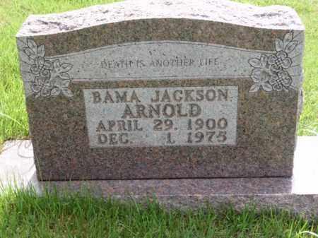 ARNOLD, BAMA - Boone County, Arkansas   BAMA ARNOLD - Arkansas Gravestone Photos