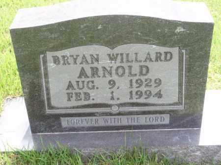 ARNOLD, BRYAN WILLARD - Boone County, Arkansas | BRYAN WILLARD ARNOLD - Arkansas Gravestone Photos