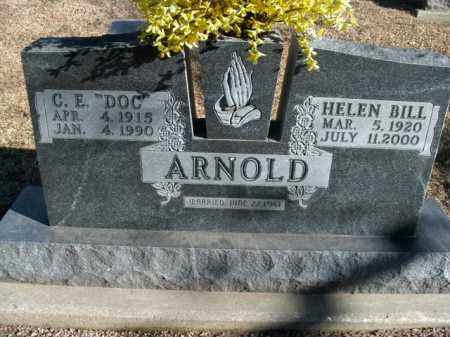 ARNOLD, HELEN BILL - Boone County, Arkansas | HELEN BILL ARNOLD - Arkansas Gravestone Photos