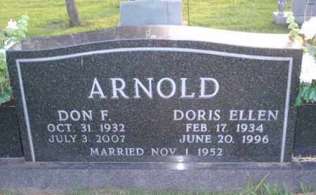 ARNOLD, DORIS ELLEN - Boone County, Arkansas | DORIS ELLEN ARNOLD - Arkansas Gravestone Photos