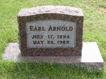 ARNOLD, EARL - Boone County, Arkansas | EARL ARNOLD - Arkansas Gravestone Photos