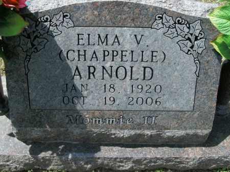 ARNOLD, ELMA V - Boone County, Arkansas | ELMA V ARNOLD - Arkansas Gravestone Photos