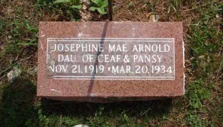ARNOLD, JOSEPHINE MAE - Boone County, Arkansas   JOSEPHINE MAE ARNOLD - Arkansas Gravestone Photos