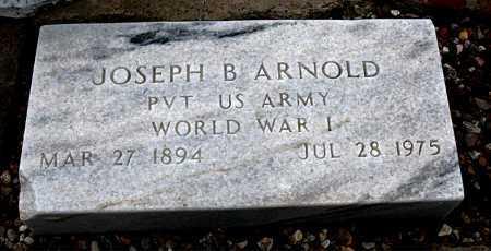 ARNOLD  (VETERAN WWI), JOSEPH B. - Boone County, Arkansas   JOSEPH B. ARNOLD  (VETERAN WWI) - Arkansas Gravestone Photos