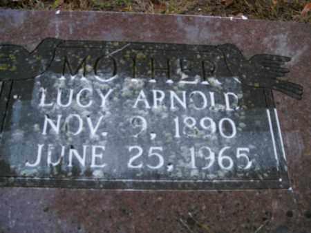 ARNOLD, LUCY - Boone County, Arkansas | LUCY ARNOLD - Arkansas Gravestone Photos