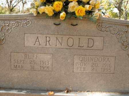 ARNOLD, QUINDORA EDITH - Boone County, Arkansas | QUINDORA EDITH ARNOLD - Arkansas Gravestone Photos