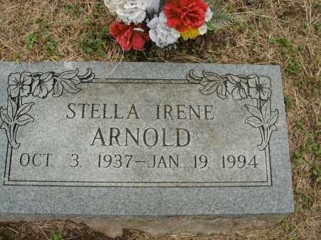 ARNOLD, STELLA IRENE - Boone County, Arkansas   STELLA IRENE ARNOLD - Arkansas Gravestone Photos
