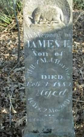 BARBEE, JAMES E. - Boone County, Arkansas   JAMES E. BARBEE - Arkansas Gravestone Photos