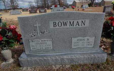 SHADDOX, LORETTA BOWMAN - Boone County, Arkansas | LORETTA BOWMAN SHADDOX - Arkansas Gravestone Photos