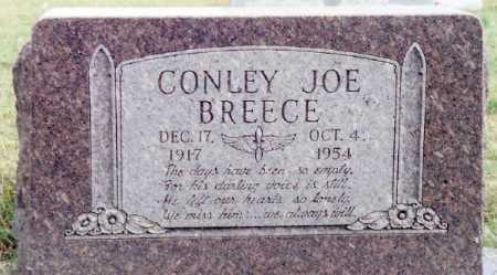 BREECE, CONLEY JOE - Boone County, Arkansas | CONLEY JOE BREECE - Arkansas Gravestone Photos