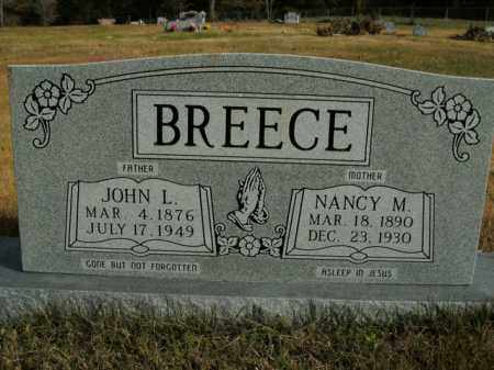 BREECE, NANCY M. - Boone County, Arkansas | NANCY M. BREECE - Arkansas Gravestone Photos