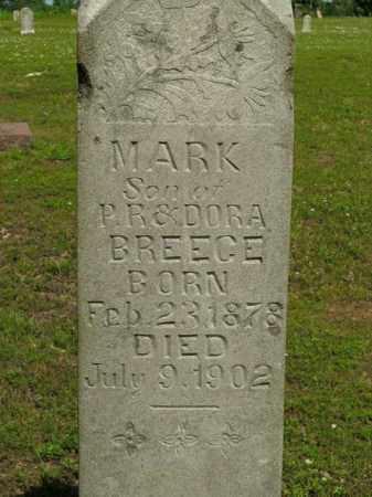 BREECE, MARK - Boone County, Arkansas | MARK BREECE - Arkansas Gravestone Photos