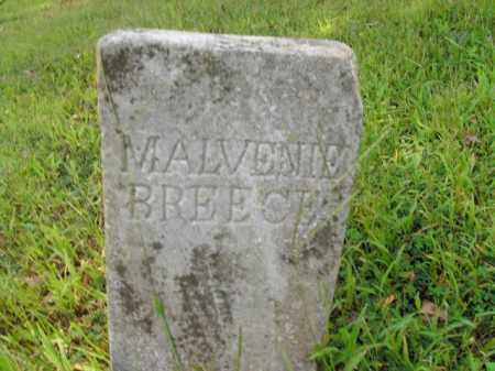 BREECE, MALVENIE - Boone County, Arkansas   MALVENIE BREECE - Arkansas Gravestone Photos