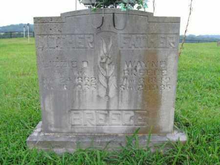BREECE, WAYNE - Boone County, Arkansas | WAYNE BREECE - Arkansas Gravestone Photos