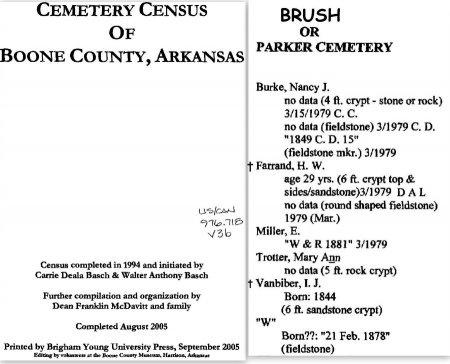 TROTTER, MARY ANN - Boone County, Arkansas | MARY ANN TROTTER - Arkansas Gravestone Photos