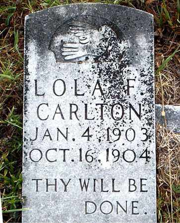 CARLTON, LOLA  F. - Boone County, Arkansas | LOLA  F. CARLTON - Arkansas Gravestone Photos