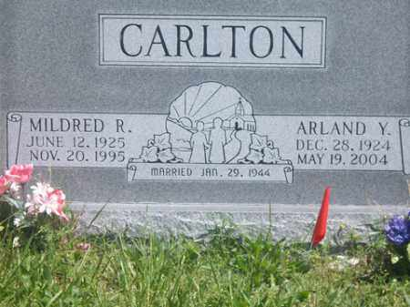 CARLTON, MILDRED R. - Boone County, Arkansas   MILDRED R. CARLTON - Arkansas Gravestone Photos