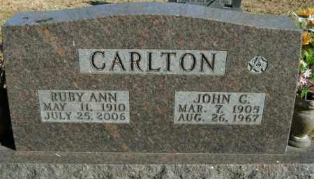 CARLTON, RUBY ANN - Boone County, Arkansas | RUBY ANN CARLTON - Arkansas Gravestone Photos