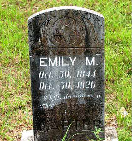 CARTER, EMILY MELVINA - Boone County, Arkansas | EMILY MELVINA CARTER - Arkansas Gravestone Photos