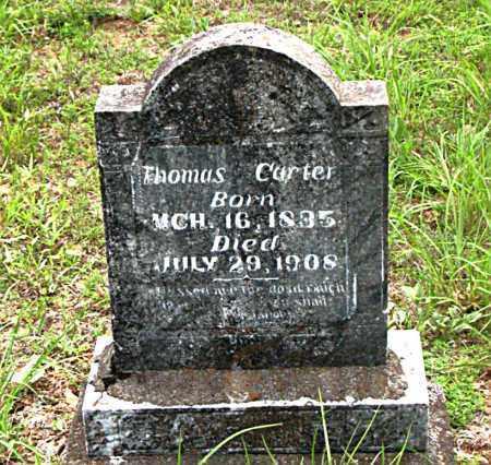 CARTER  (VETERAN CSA), THOMAS - Boone County, Arkansas | THOMAS CARTER  (VETERAN CSA) - Arkansas Gravestone Photos