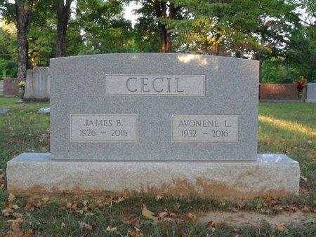 CECIL, JAMES B - Boone County, Arkansas | JAMES B CECIL - Arkansas Gravestone Photos
