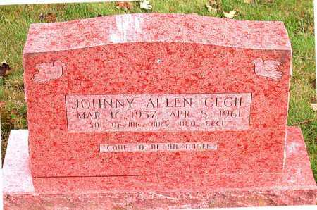 CECIL, JOHNNY ALLEN - Boone County, Arkansas   JOHNNY ALLEN CECIL - Arkansas Gravestone Photos