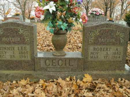 CECIL, MINNIE LEE - Boone County, Arkansas | MINNIE LEE CECIL - Arkansas Gravestone Photos