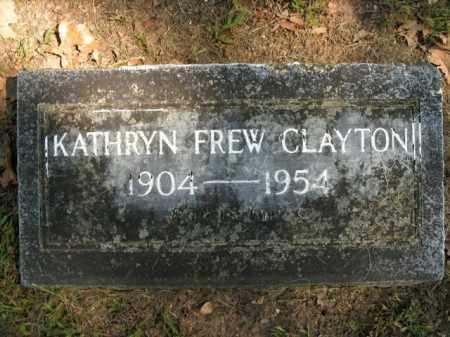 CLAYTON, KATHRYN - Boone County, Arkansas | KATHRYN CLAYTON - Arkansas Gravestone Photos