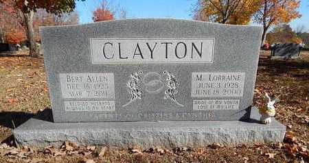 CLAYTON, BERT ALLEN - Boone County, Arkansas | BERT ALLEN CLAYTON - Arkansas Gravestone Photos