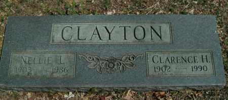 CLAYTON, NELLIE L - Boone County, Arkansas | NELLIE L CLAYTON - Arkansas Gravestone Photos