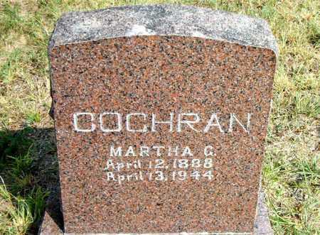 COCHRAN, MARTHA  GERTRUDE - Boone County, Arkansas | MARTHA  GERTRUDE COCHRAN - Arkansas Gravestone Photos