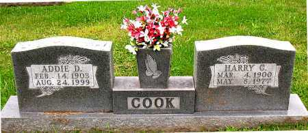 COOK, HARRY - Boone County, Arkansas | HARRY COOK - Arkansas Gravestone Photos