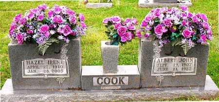 COOK, HAZEL IRENE - Boone County, Arkansas | HAZEL IRENE COOK - Arkansas Gravestone Photos