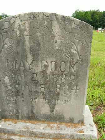 COOK, MAY - Boone County, Arkansas   MAY COOK - Arkansas Gravestone Photos