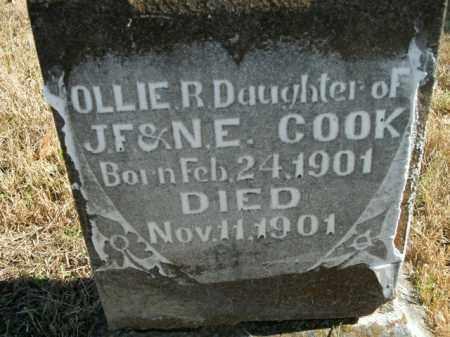 COOK, OLLIE R. - Boone County, Arkansas | OLLIE R. COOK - Arkansas Gravestone Photos