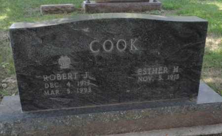 COOK, ROBERT J - Boone County, Arkansas | ROBERT J COOK - Arkansas Gravestone Photos