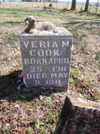 COOK, VERIA M. - Boone County, Arkansas | VERIA M. COOK - Arkansas Gravestone Photos