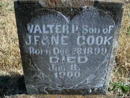 COOK, WALTER P. - Boone County, Arkansas | WALTER P. COOK - Arkansas Gravestone Photos