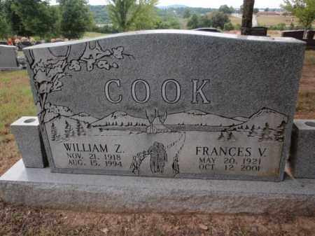 COOK, WILLIAM Z - Boone County, Arkansas | WILLIAM Z COOK - Arkansas Gravestone Photos