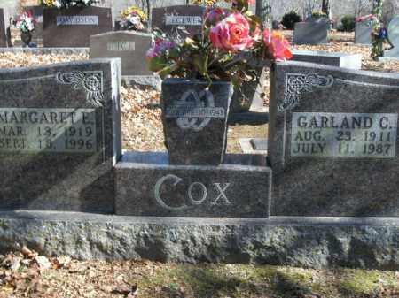 COX, GARLAND C. - Boone County, Arkansas   GARLAND C. COX - Arkansas Gravestone Photos